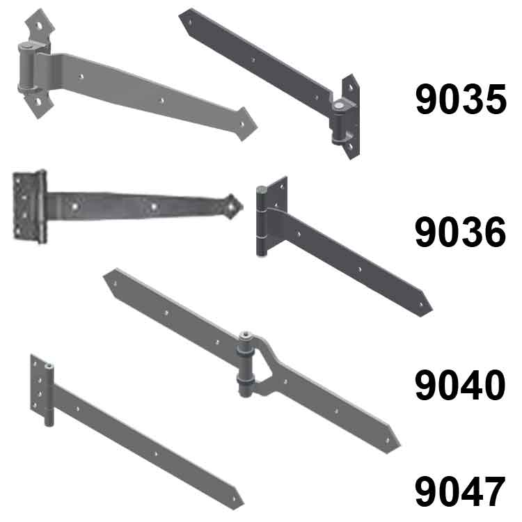 Standard and Decorative Strap Hinges