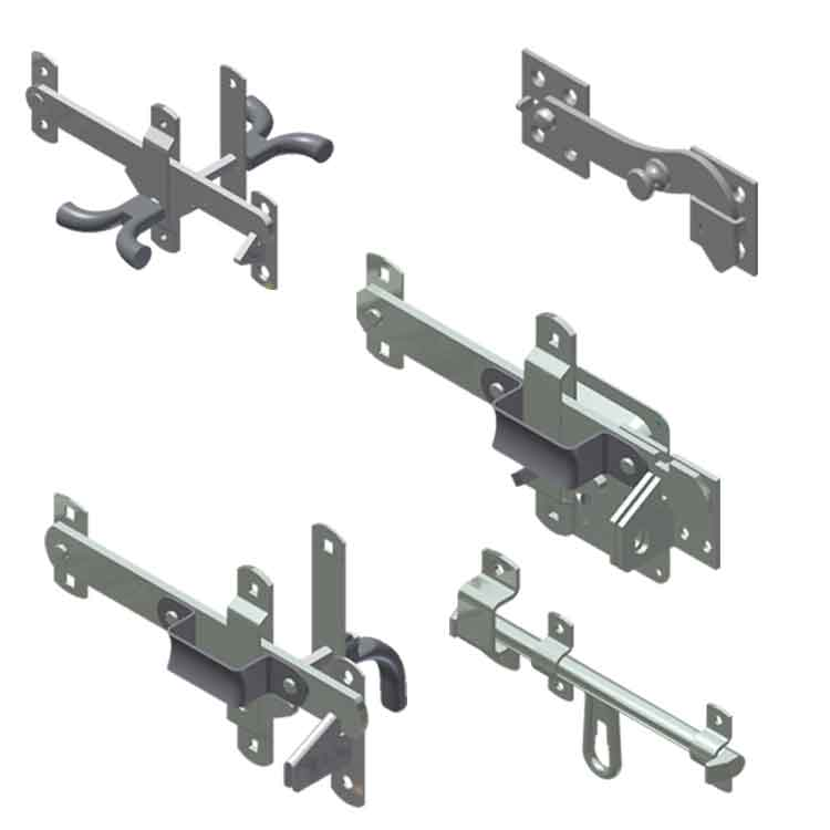 Swing Door Latches